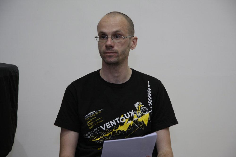 Nemanja Mitrović Predavanje O zaboravu nepamtljivog 11 jun 2015 KCB (3).JPG