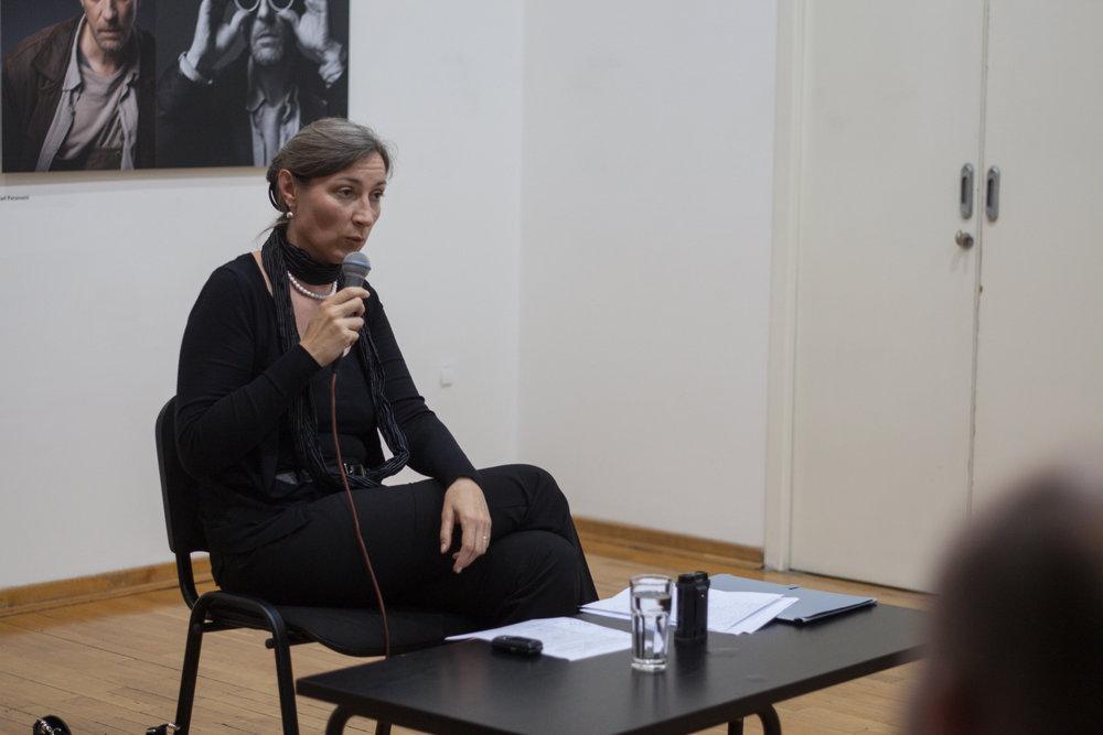 Tatjana Jukić Predavanje u Ciklusu O melanholiji 29 maj 2014 KCB Foto Srdjan Veljović (1).jpg