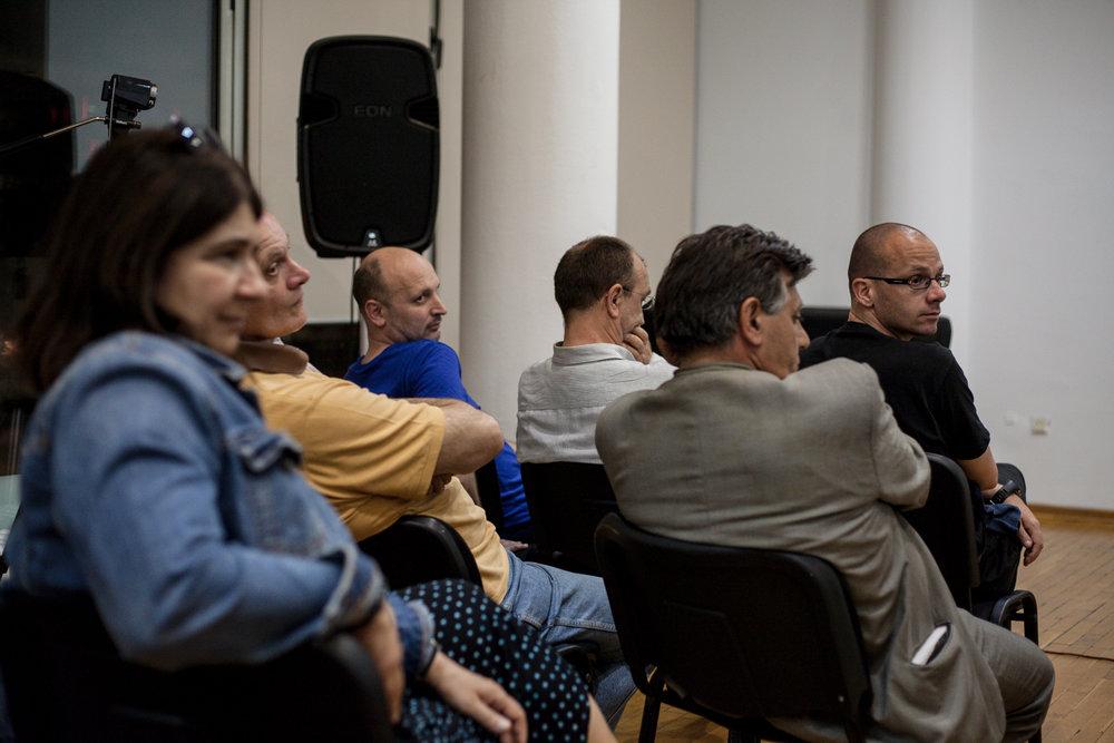 Tatjana Jukić Predavanje u Ciklusu O melanholiji 29 maj 2014 KCB Foto Srdjan Veljović (3).jpg