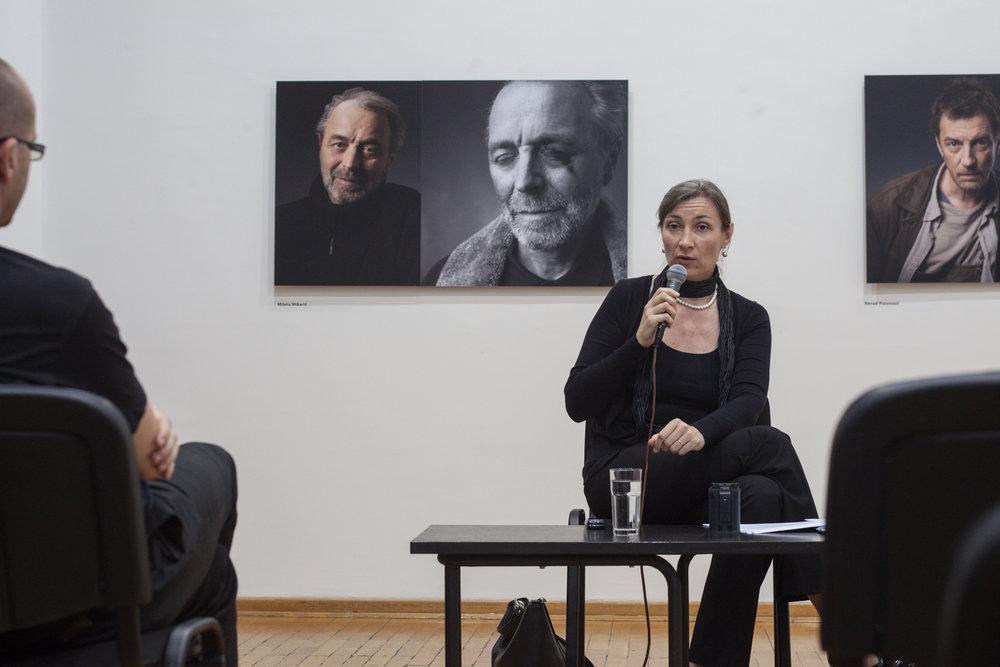 Tatjana Jukić Predavanje u Ciklusu O melanholiji 29 maj 2014 KCB Foto Srdjan Veljović (5).jpg