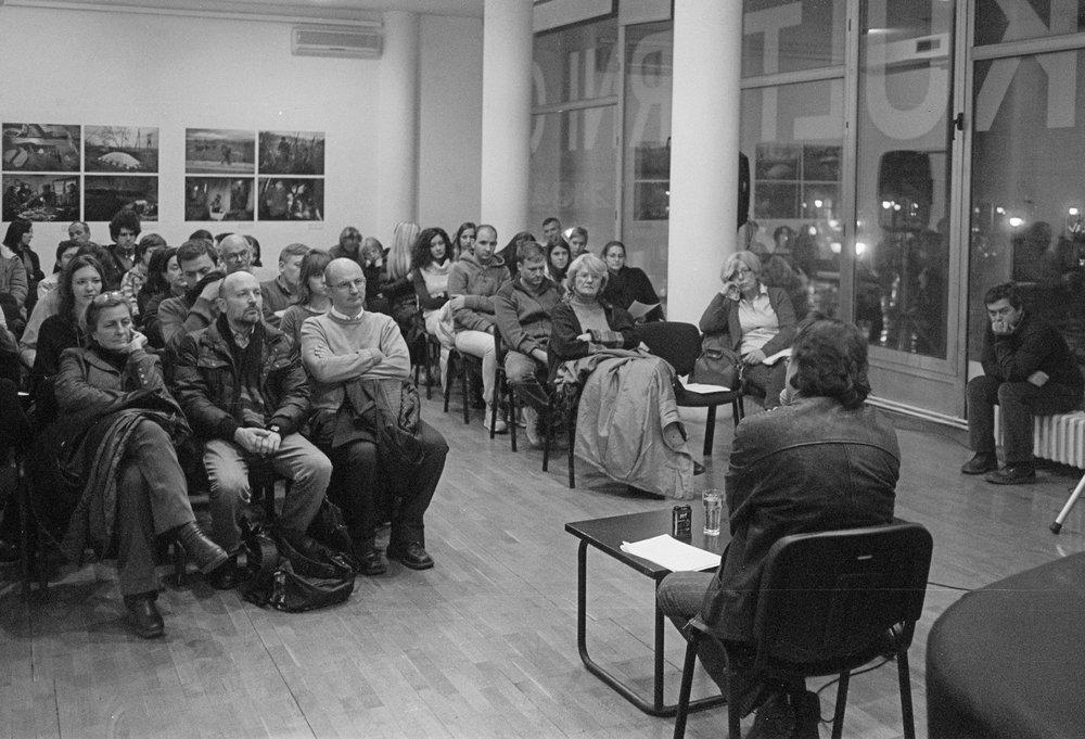 Tomislav Brlek Predavanje u ciklusu O melanholiji 26 novembar 2013 KCB Foto Srdjan Veljović (3).jpg