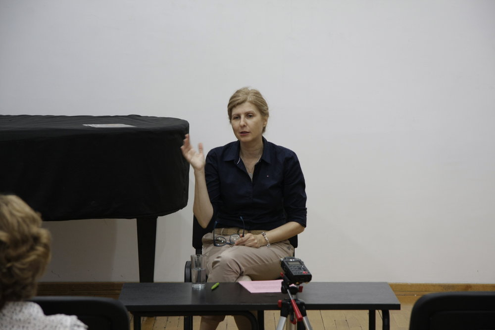 Olga Manojlović Pintar Predavanje Koncentrični krugovi pamćenja 16 jun 2015 KCB   (4).JPG