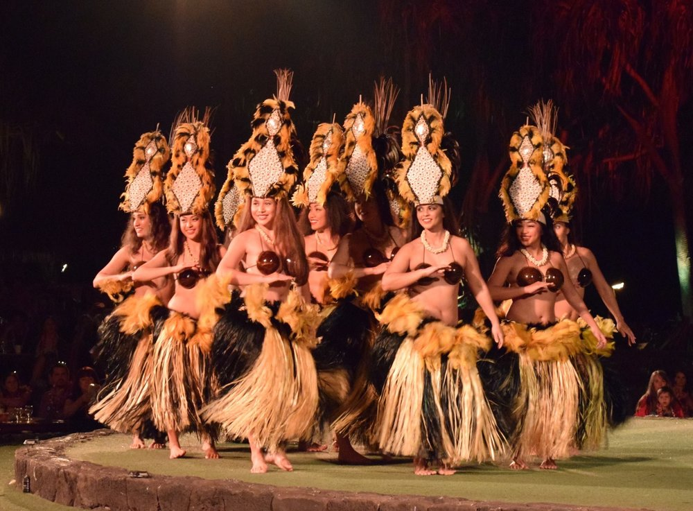 Performers at the Old Lahaina Luau.