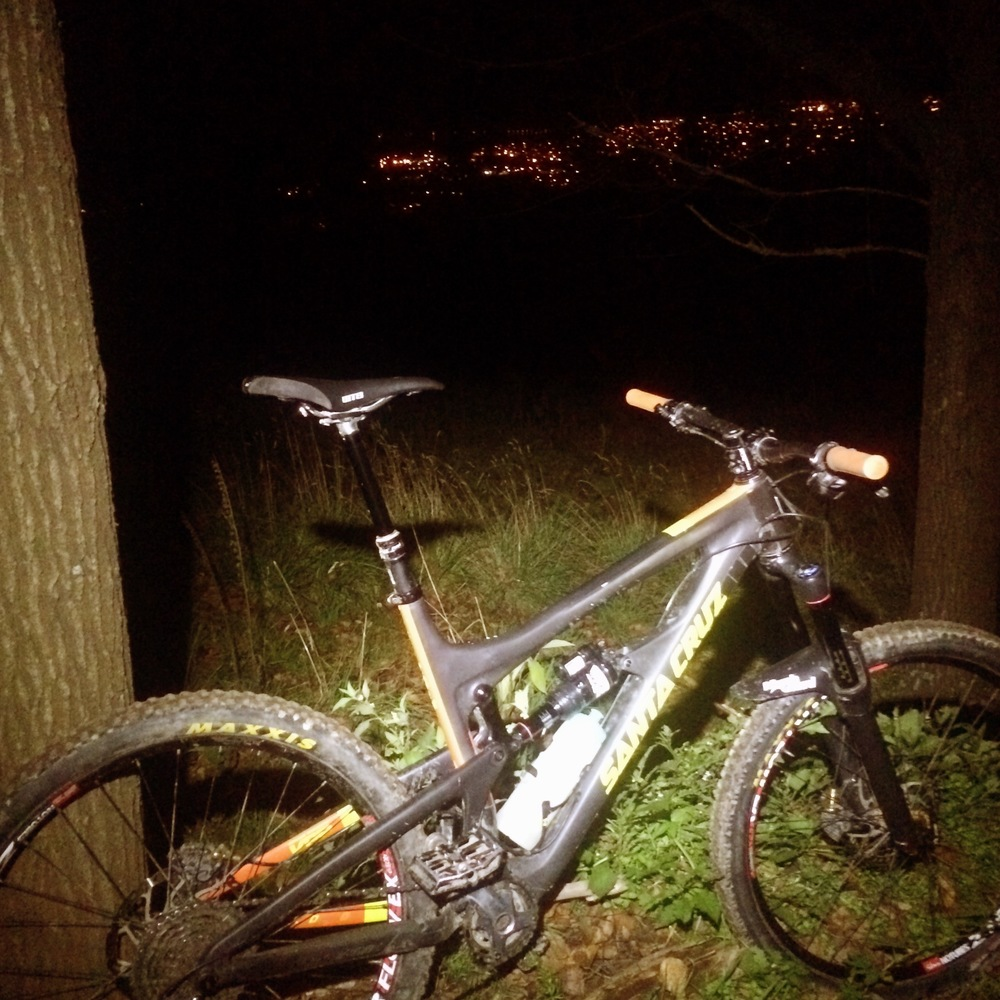 Sylvan Forest trails , Richmond, Nelson - Great place for quick night ride