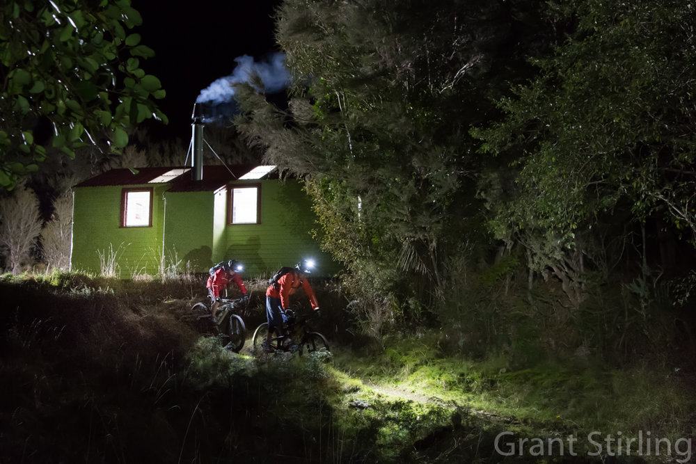 Grant Stirling  did an amazing job on these night shots of the Browning Hut. Thanks to  www.nightlightning.co.nz  for lighting our way.