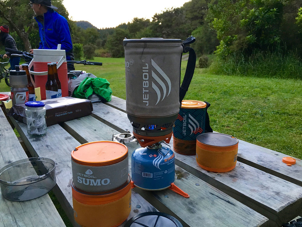 Cook up with the  jetboil sumo
