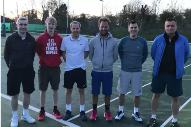 Lanark gents first team (from left): Andrew Jack, Aaron Napier, Theo Philip, David Gemmell, Peter Stewart and Donald Stewart. Not pictured: Colin Thomson and George Lang.