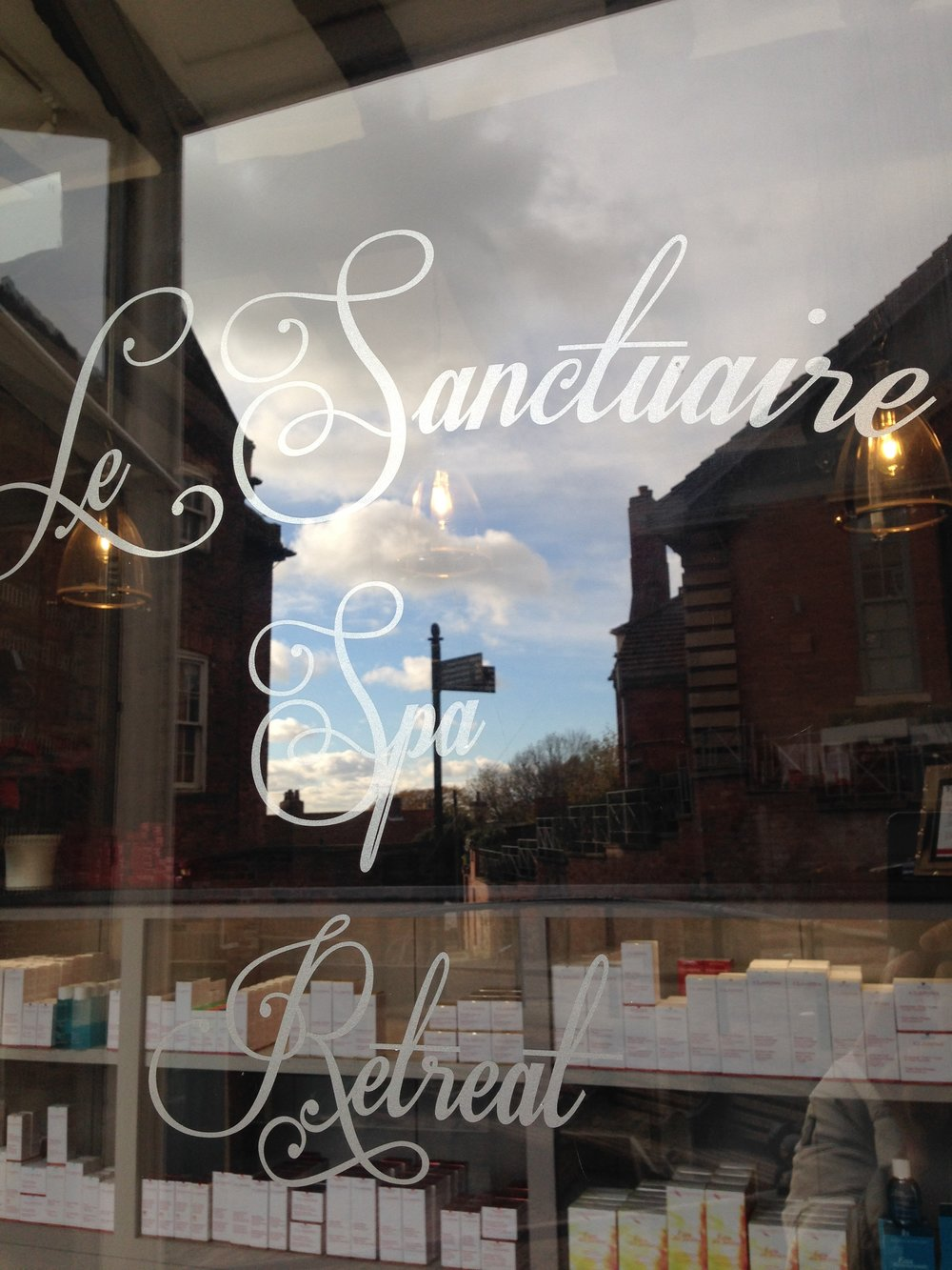 Le Sanctuaire at 13-15 Steep Hill, a haven of indulgent treatments, therapies and yoga.