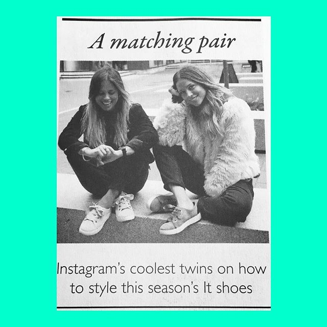 Our wonderful duo @collyertwins are featured in @graziauk fashion quarterly - Shoes paper. 'A matching pair - Instagram coolest twins on how to style this seasons It shoes.' To book the duo go to www.decibellondon.com #decibellondon #collyertwins #fashion #style #twins #amatchingpair #graziauk #shoespaper