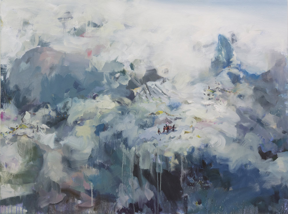 Frozen 145X110cm 2015 Oil on canvas .jpg