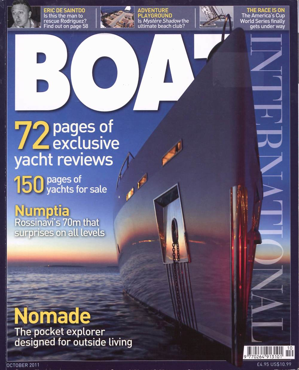 Boat International October 2011
