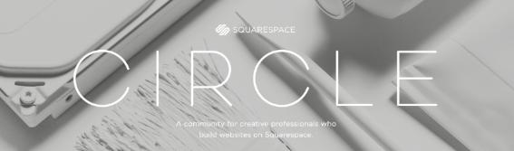 squarespace circle community squarestudio