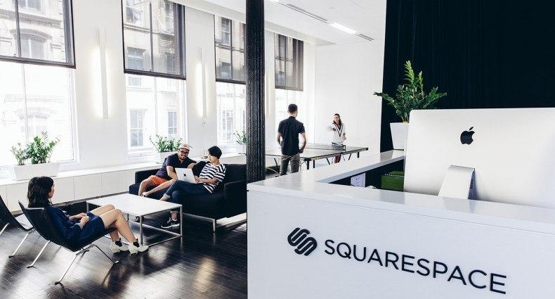 squarestudio squarespace 39 s new hq. Black Bedroom Furniture Sets. Home Design Ideas