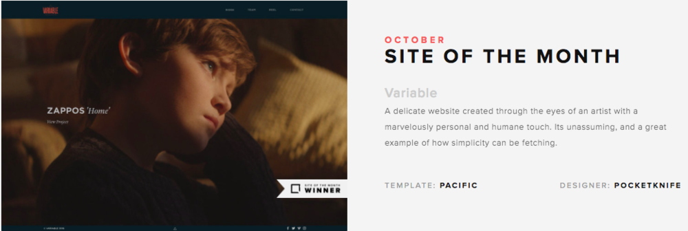 Squarespace Circle | October Awards Winners | SquareStudio Plugins & Development | Variable