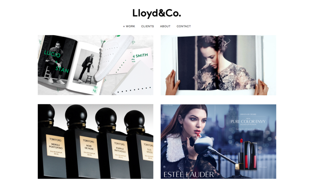 Squarespace Wireframe Build | Lloyd & Co.