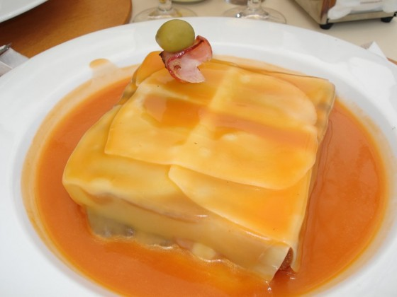 The Typical Dish of Oporto: The Francesinha