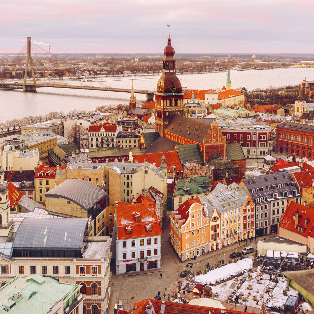 Holiday Magic in Riga, Latvia - Dec 2017