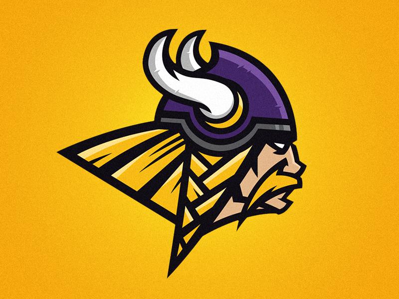 Minnesota Vikings Rebrand Logo