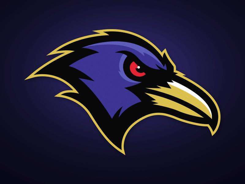Baltimore Ravens Rebrand Logo