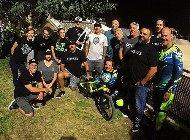 Earlier this week we hosted a rad little event that showcased our new 2018 Speed Series BMX line. We had some special guests, too, including the man who put the G and the T in our name, Mr Gary Turner! #honoredguest #neverforgetyourroots @gtbmxrace #GaryTurner