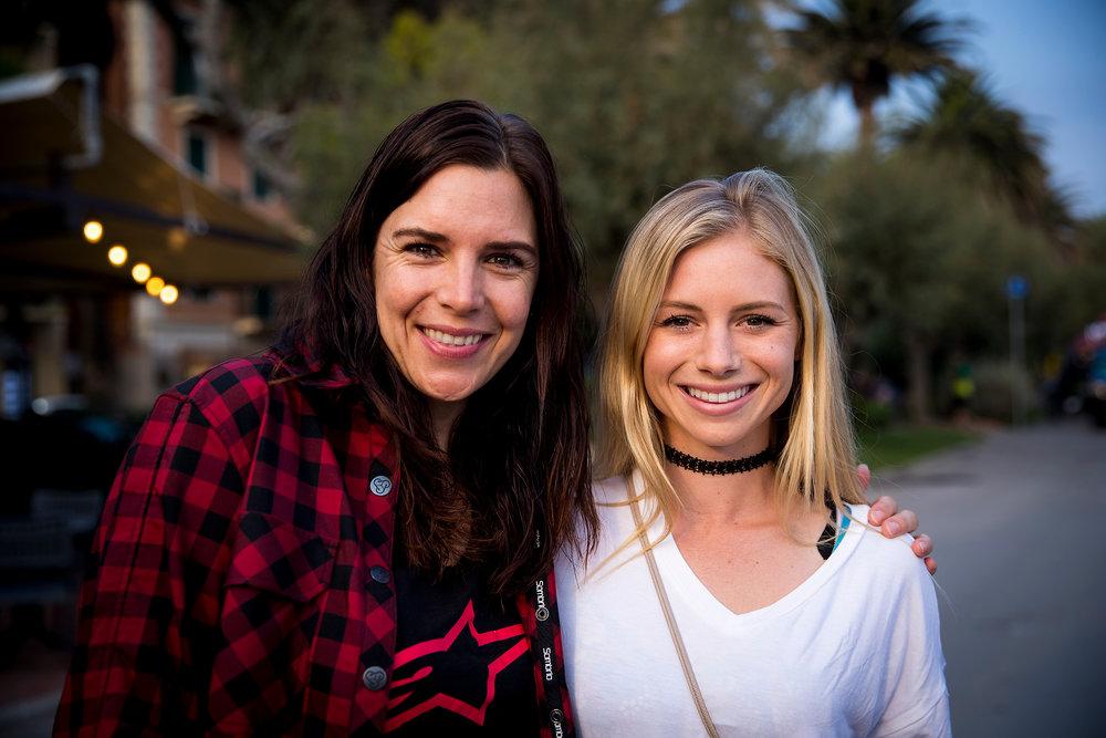Anneke Beerten and Rachel Strait