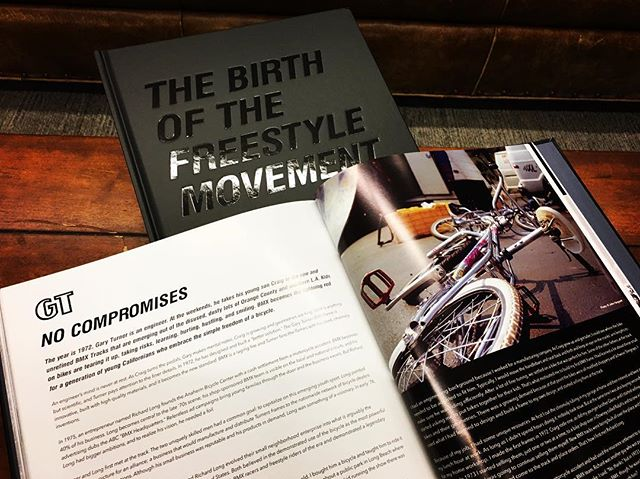 "Before anything was ""X-treme"", or the term ""Action Sports"" even existed, GT was right there alongside the most iconic names in the industry. We have witnessed the evolution of this self-expression-focused lifestyle and sport that has been documented within the pages of 'Wall To Wall – The Birth of the Freestyle Movement'. A must have for anyone that's ever thrown a leg over a bike! @wall2wallfreestyle #bmx @gtbmxfreestyle"