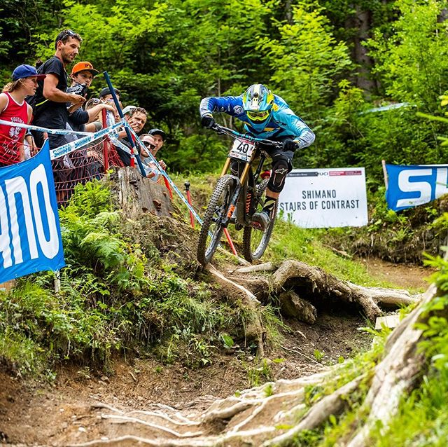 Time for some DH soon hopefully the rain holds off for the next few days here in Val di sole! #theseagull 📸 @svenmartinphoto 🤘🏼🤘🏼@gtbicycles @dewalttough  @ride100percent @rideshimano @schwalbetires @fox #ridefox @extremeofficial @sombriocartel @raceface604 @stansnotubes #leogang #ucimtbworldcup
