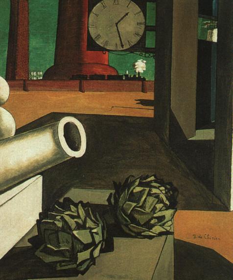 Giorgo de Chirico, La conquista del filosofo, 1914