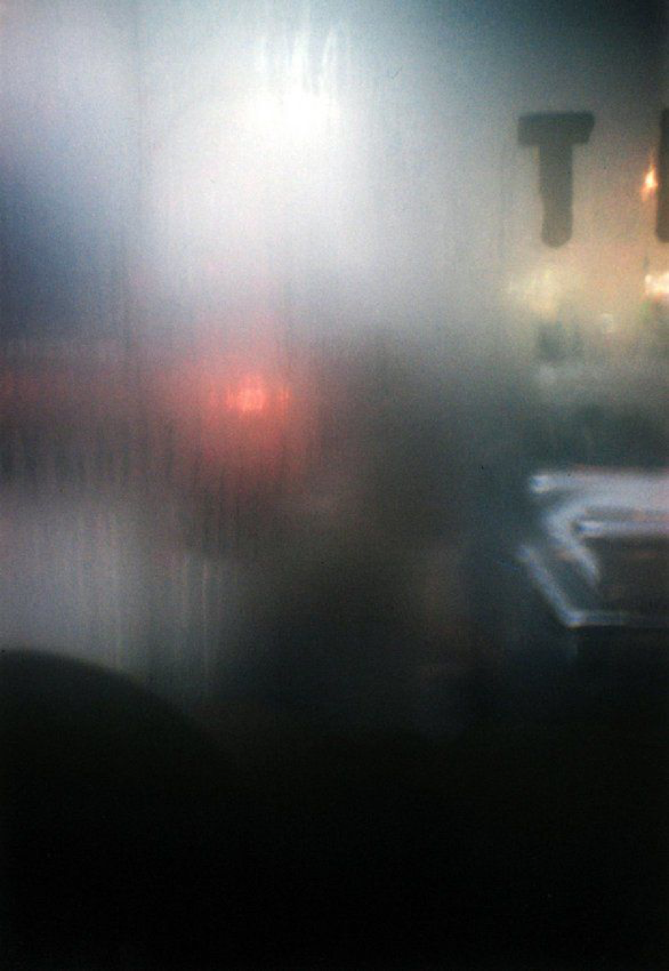 Saul Leiter,  T  , 1950