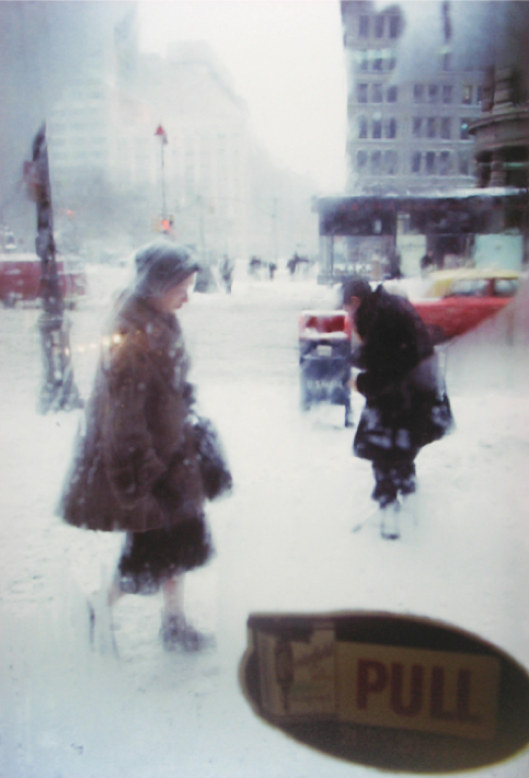 Saul Leiter,  Pull , 1960