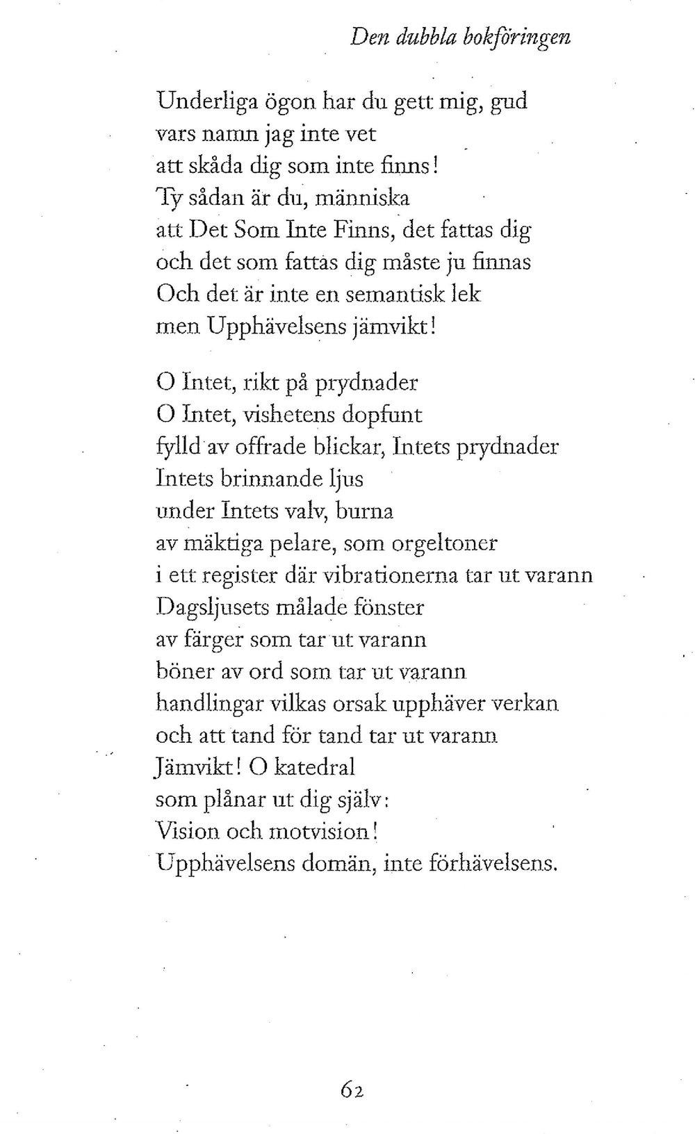 Gunnar Ekelöf, Samlade dikter II, 2017,s. 62