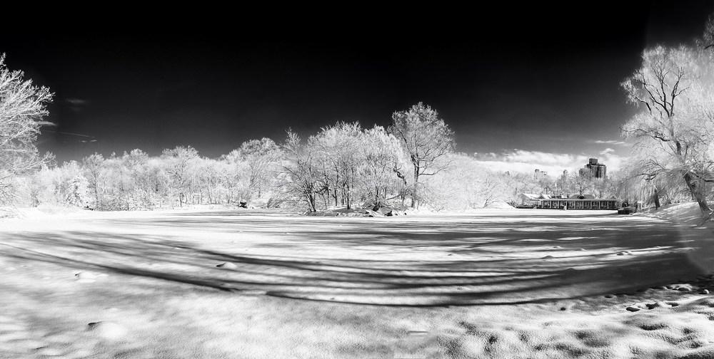 Frozen Boathouse, Winter 2014