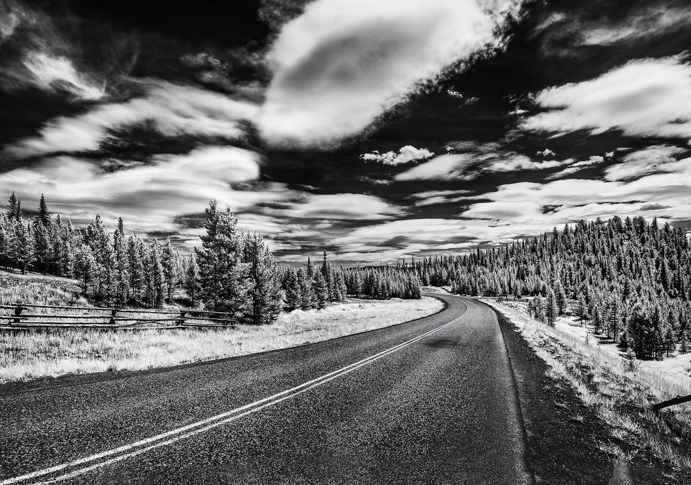 Open Road, Big Sky, Summer 2014