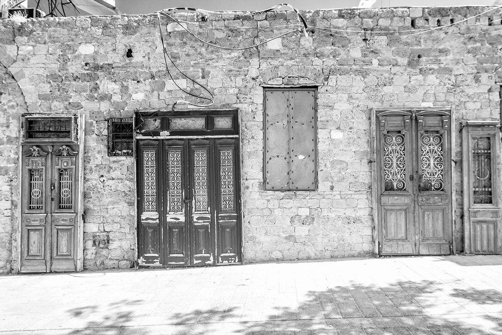 Doors in Jaffa, Jaffa Israel, 2013