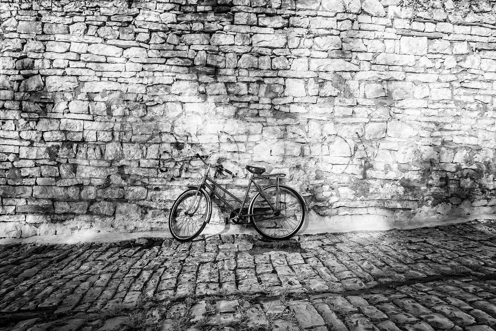 Morning Bike, Berat, Albania, 2015