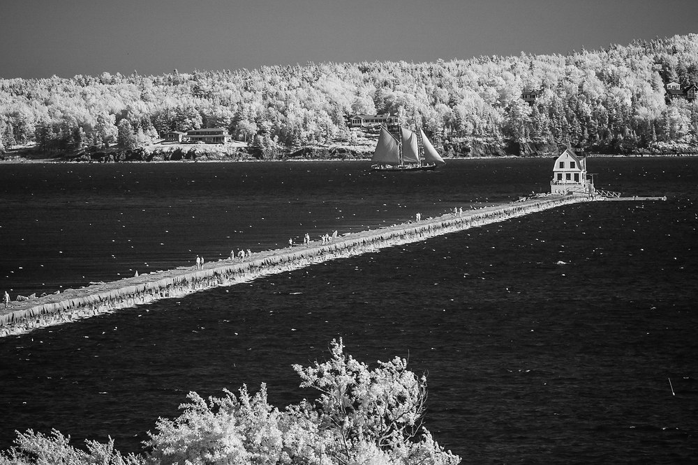 Rockland Breakwater Lighthouse, 2013