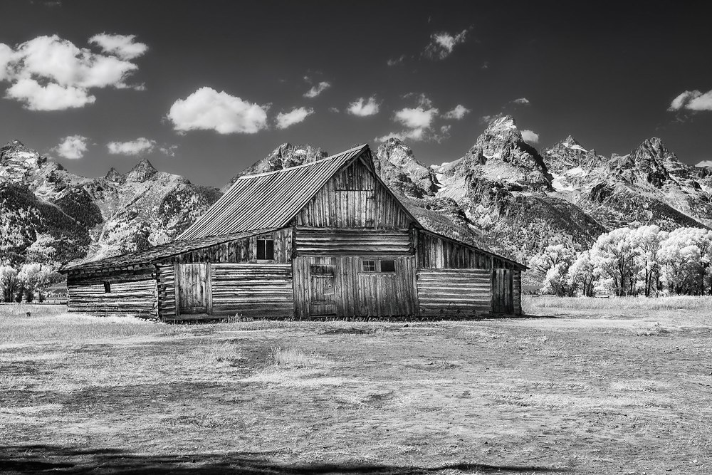 Moulton Barn, Morman Row, Grand Teton Park, Wyoming