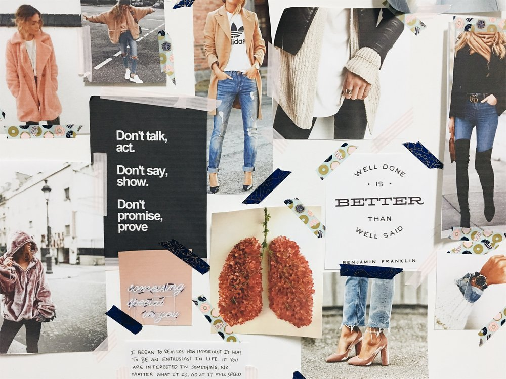 my fall fashion mood board | all images courtesy of Pinterest