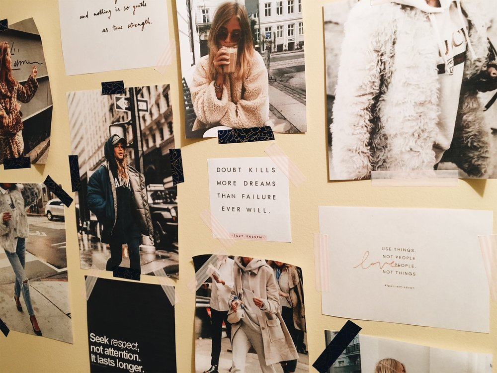 Angela's fall fashion mood board | all images courtesy of Pinterst