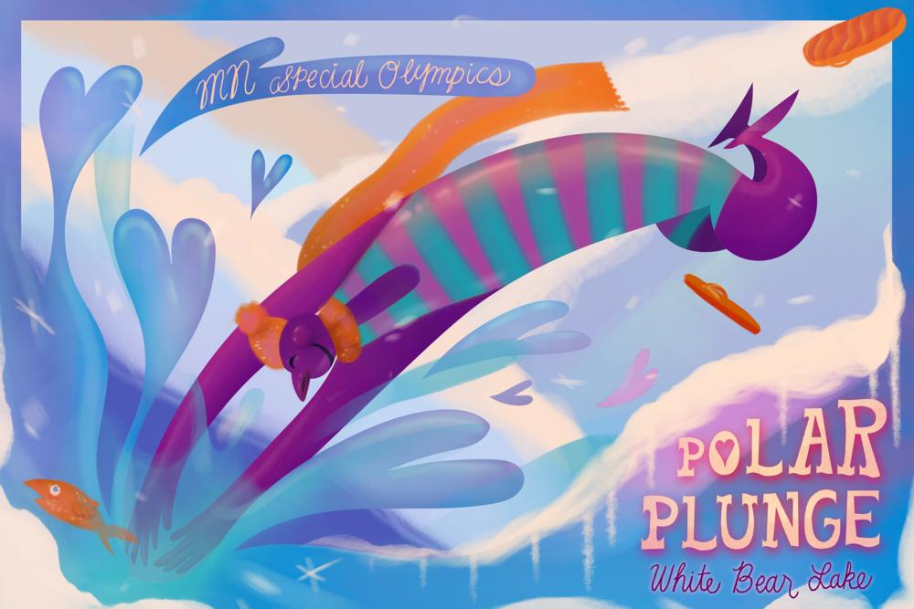 MN Polar Plunge Poster