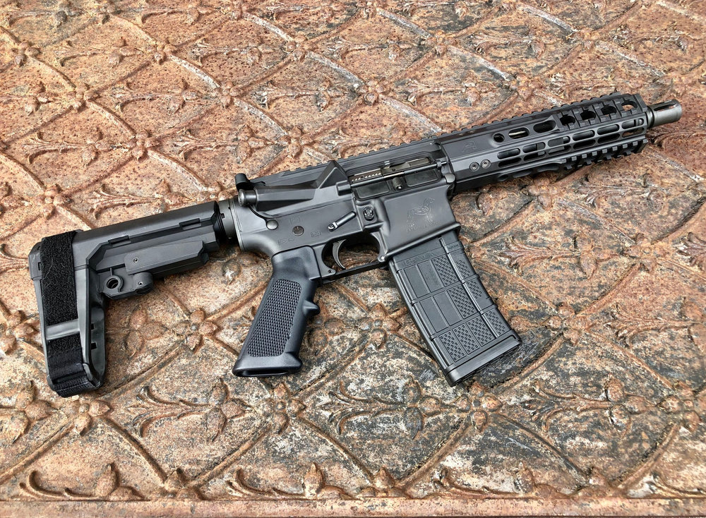 The Vintorez AR also available in pistol builds