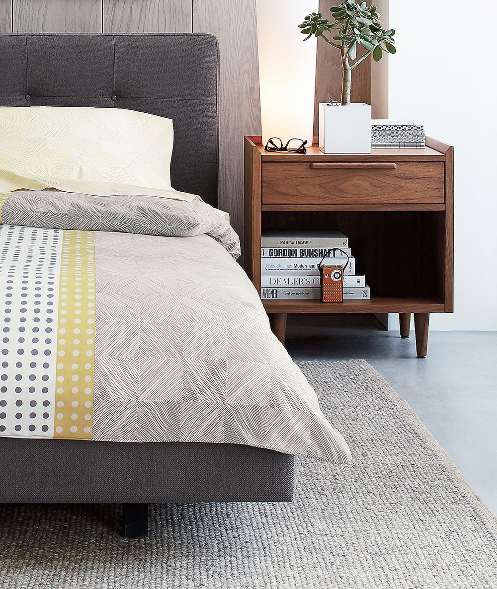 Design Tate Bed tovin design limited tate nightstand crate barrel