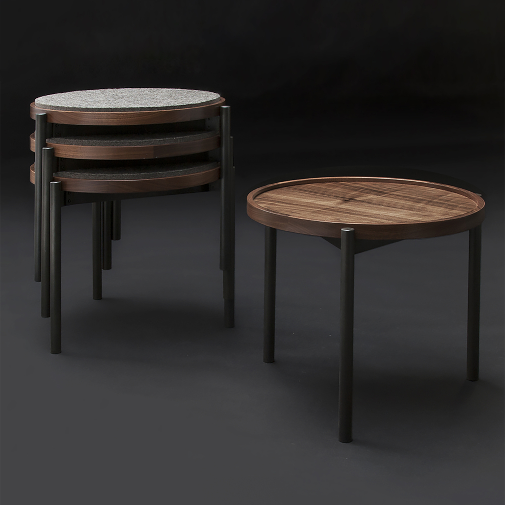 Furniture stacking stools studio collection