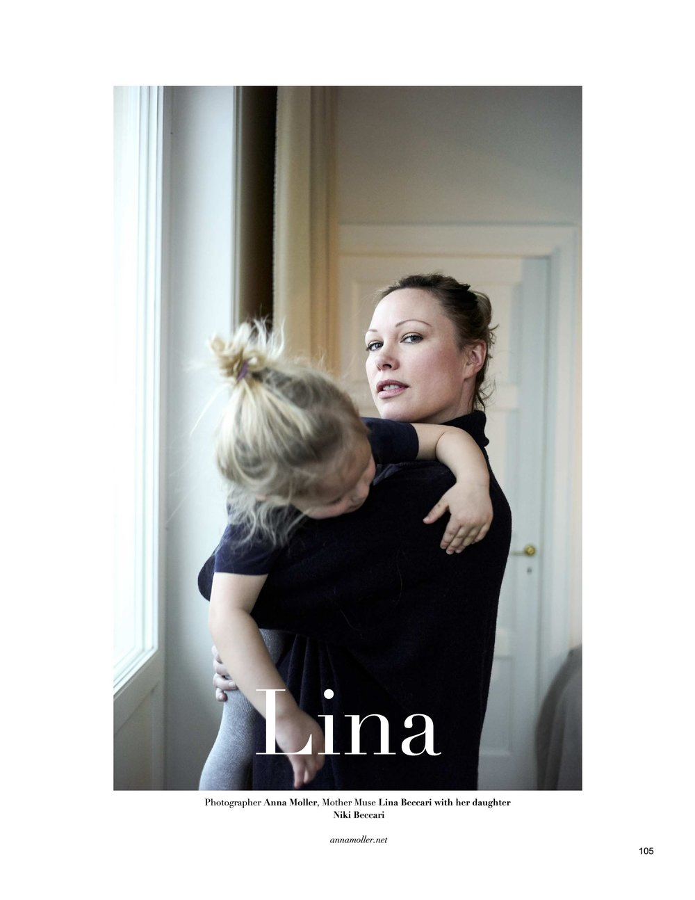 Lina and Niki | MOTHER MUSE  MAGAZINE