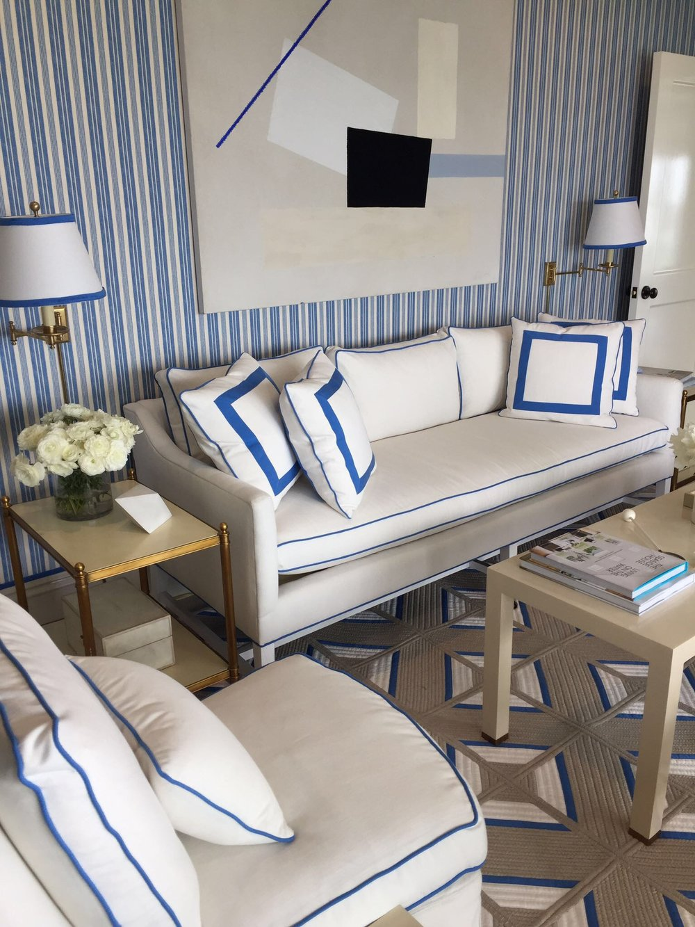 Kerry Spears Interiors - Blue and White11