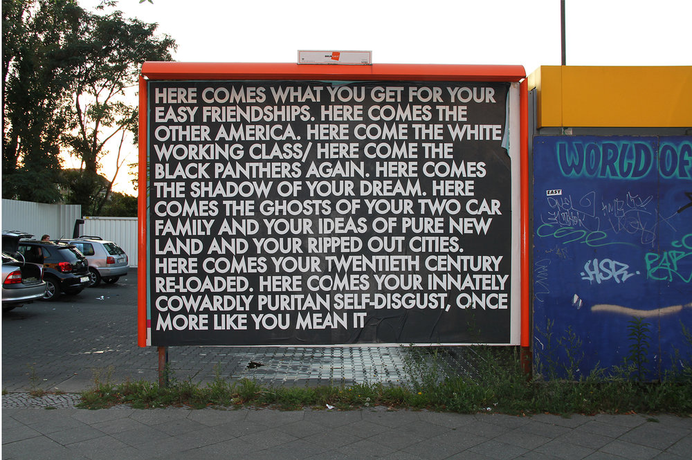 Berlin billboard. 2011