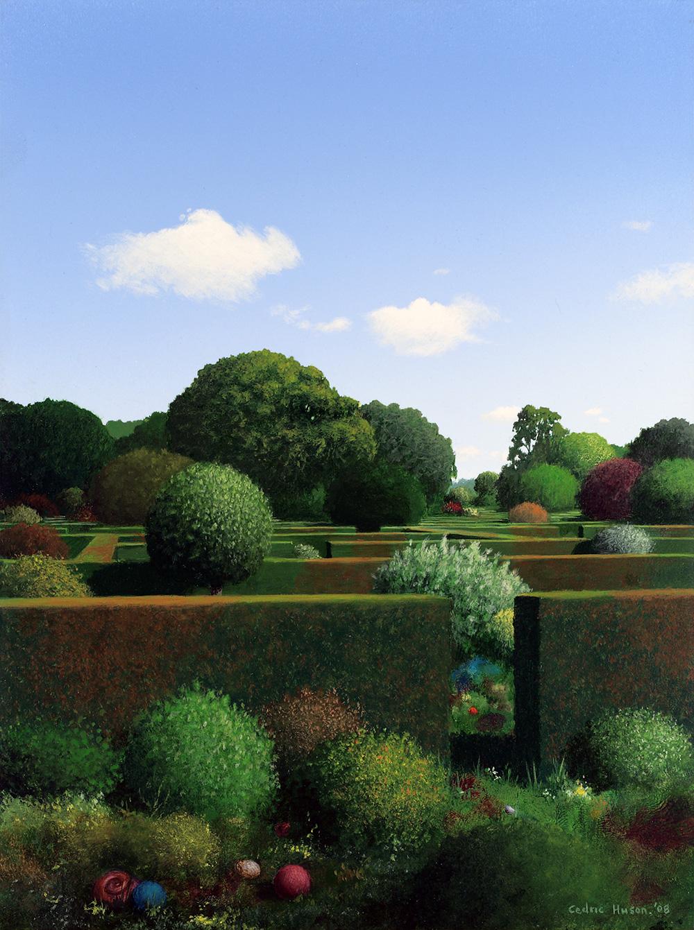 Hedge Garden, August