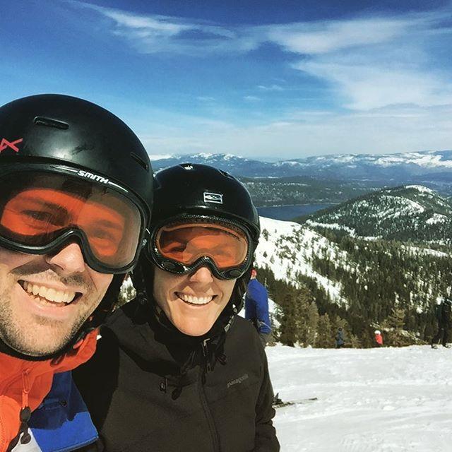 Spring skiing 💯
