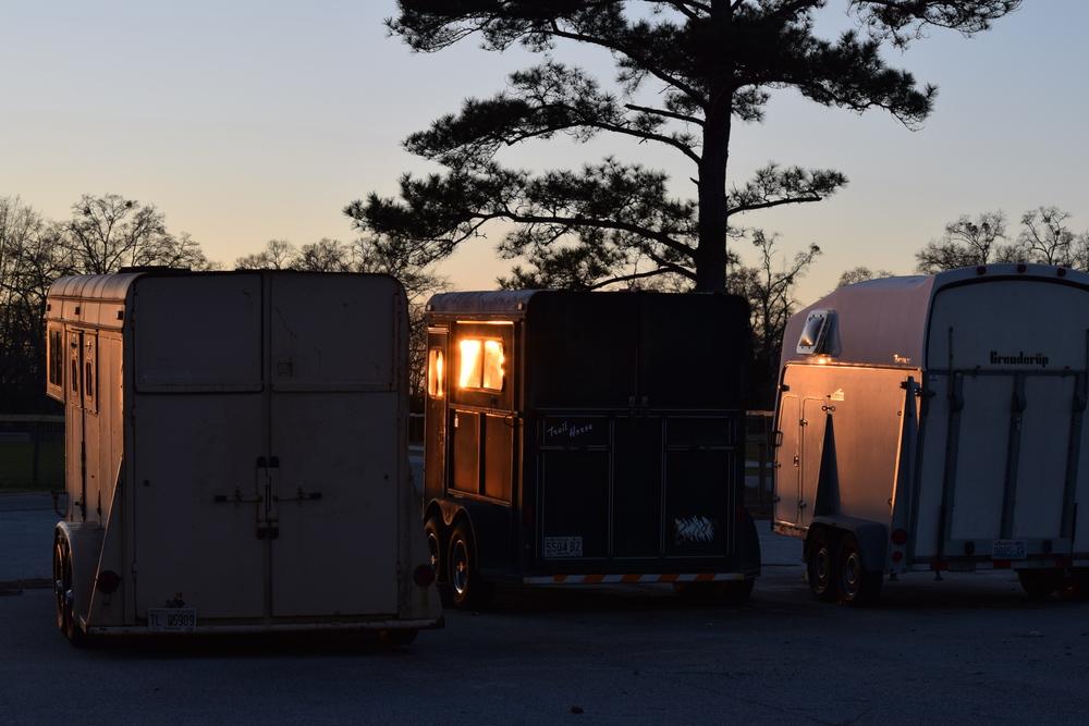 Horse Trailers on Robins AFB, GA
