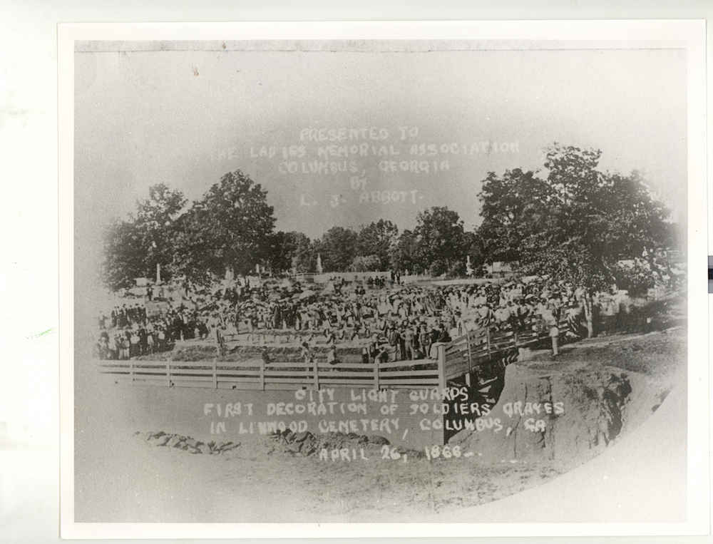 The first Memorial Day in Columbus, GA  Credit: Columbus State University Archives